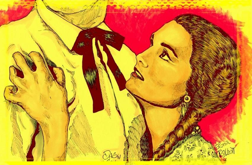 Gloria Talbott by didgiv